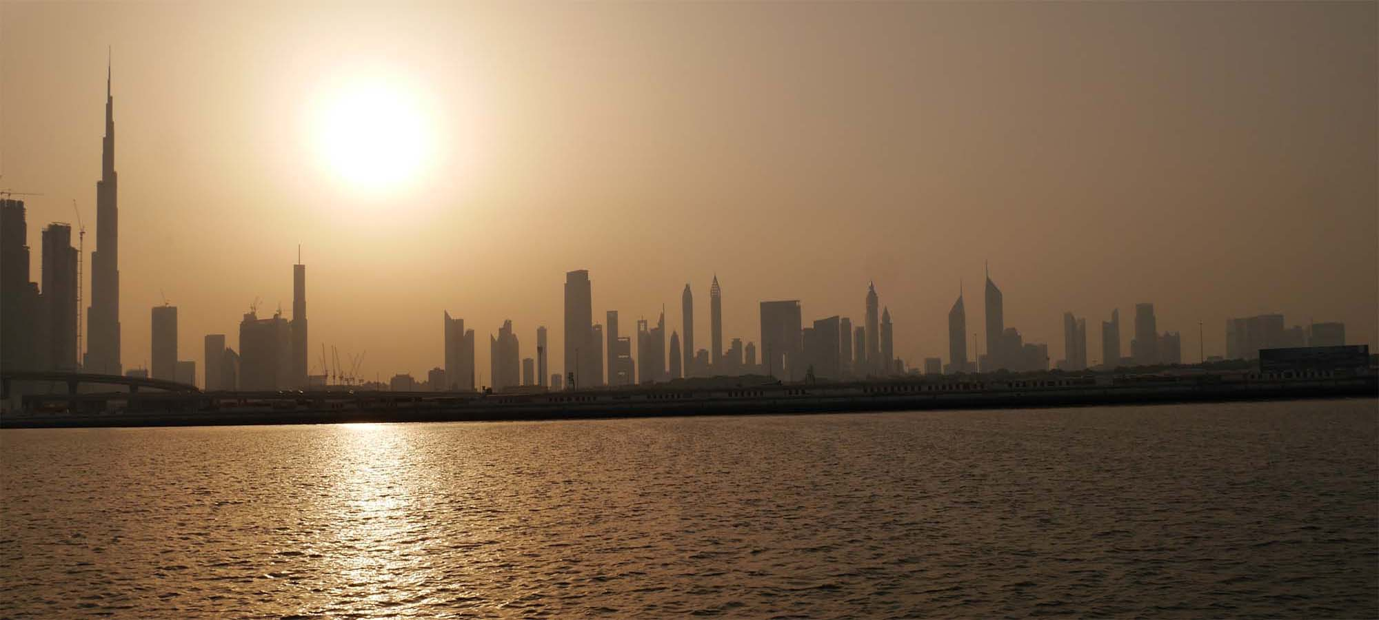 Dubai 2009 – Erste Reise
